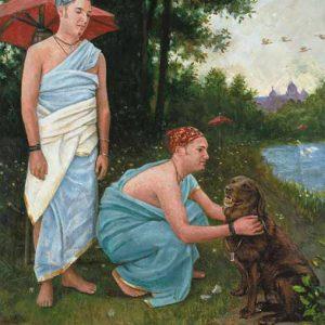 Dog-Gemini Fine Art Print