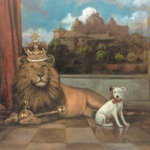 Dog-Leo Fine Art Print