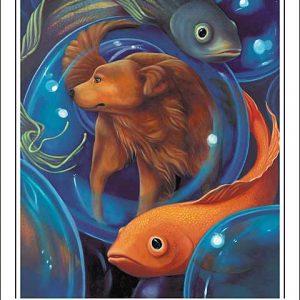Dog-Pisces Poster