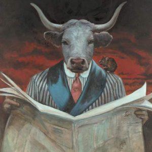 Rat-Taurus Fine Art Print