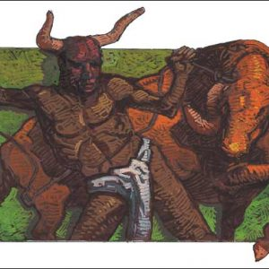 Ox-Taurus Fine Art Print