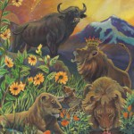Ox-Leo Fine Art Print