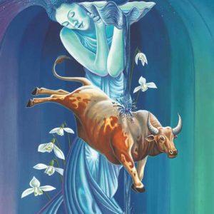 Ox-Aquarius Fine Art Print
