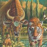 Tiger-Taurus Fine Art Print