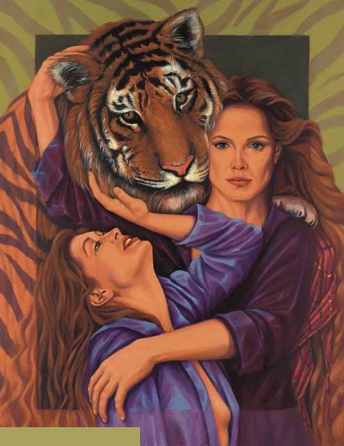 Tiger-Gemini Fine Art Print