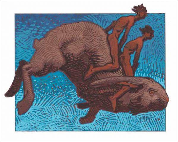 Rabbit-Gemini Fine Art Print