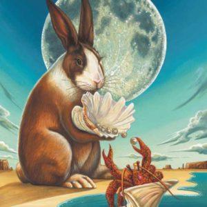 Rabbit-Cancer Fine Art Print