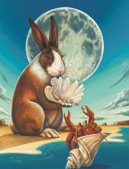 Rabbit-Cancer Fine Art Print