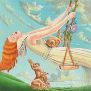 Rabbit-Virgo Fine Art Print