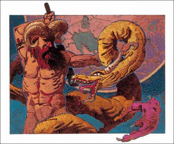 Dragon-Aries Fine Art Print