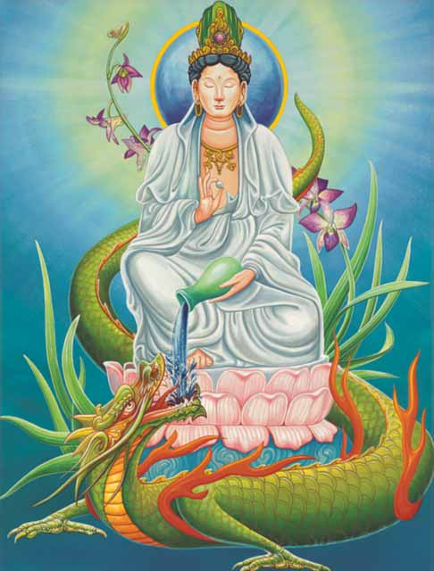 Dragon-Aquarius Fine Art Print