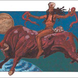 Snake-Taurus Fine Art Print