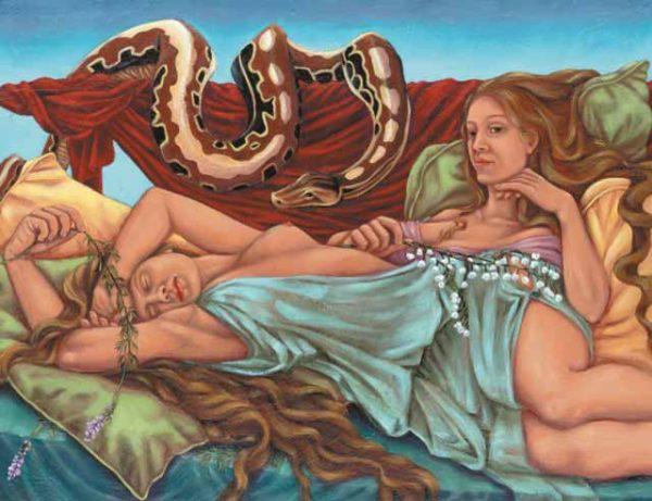Snake-Gemini Fine Art Print