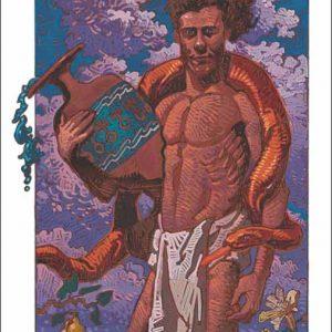 Snake-Aquarius Fine Art Print
