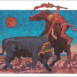 Horse-Taurus Fine Art Print