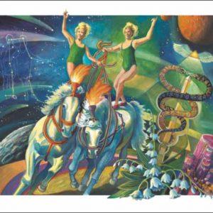 Horse-Gemini Fine Art Print