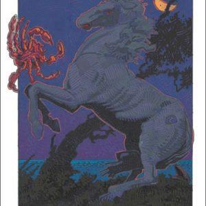 Horse-Cancer Fine Art Print
