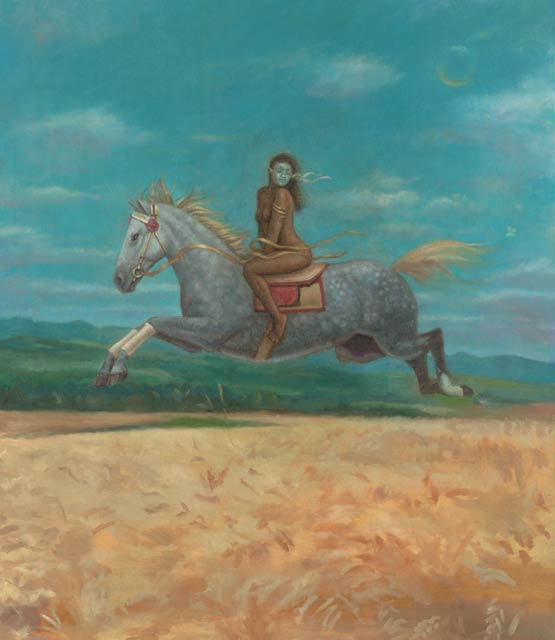 Horse-Virgo Fine Art Print
