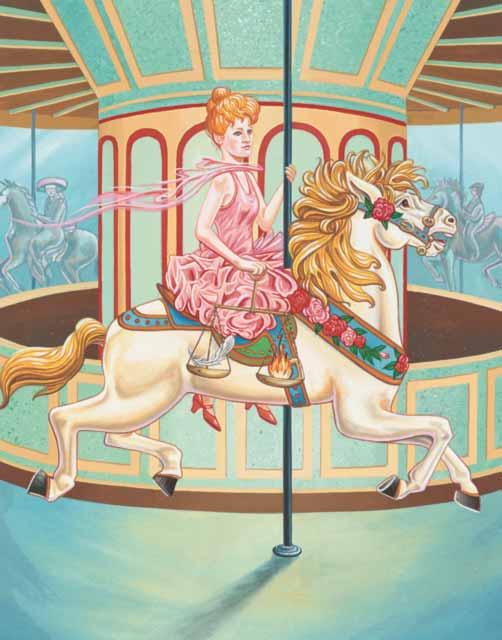 Horse-Libra Fine Art Print