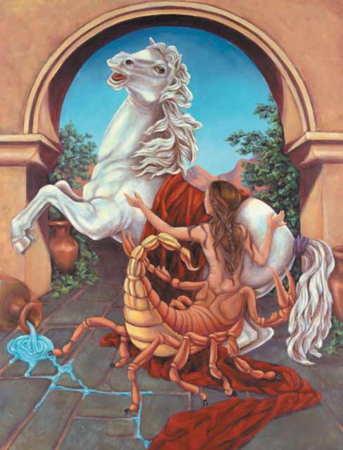 Horse-Scorpio Fine Art Print