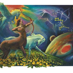 Horse-Sagittarius Fine Art Print