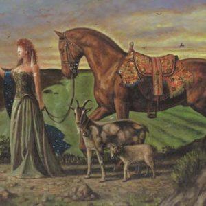 Horse-Capricorn Fine Art Print