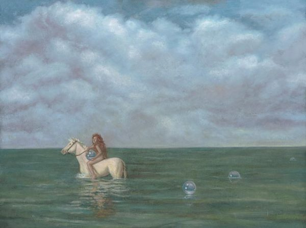 Horse-Aquarius Fine Art Print