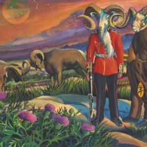 Ram-Aries Fine Art Print