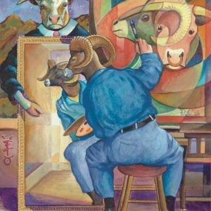 Ram-Taurus Fine Art Print