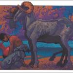 Ram-Aquarius Fine Art Print