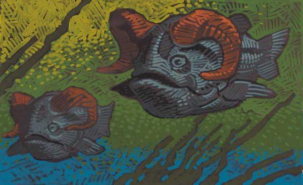 Ram-Pisces Fine Art Print