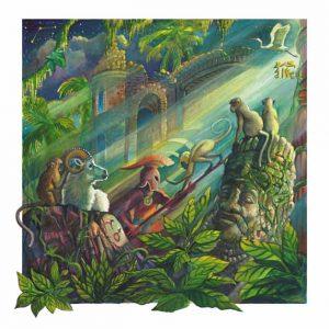 Monkey-Aries Fine Art Print