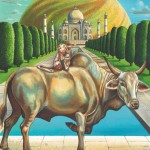Monkey-Taurus Fine Art Print