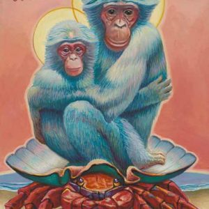 Monkey-Cancer Fine Art Print