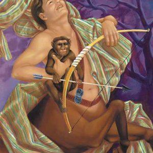 Monkey-Sagittarius Fine Art Print