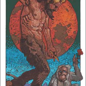 Monkey-Capricorn Fine Art Print