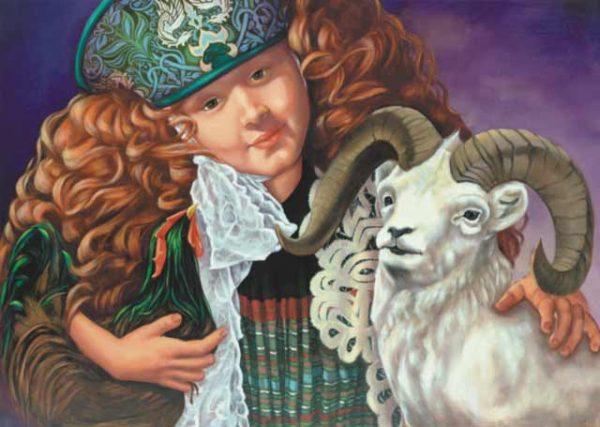 Rooster-Aries Fine Art Print