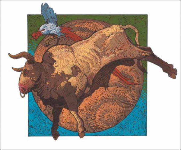Rooster-Taurus Fine Art Print