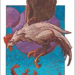 Rooster-Scorpio Fine Art Print