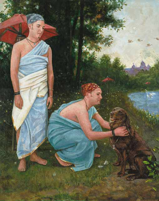 Dog-Gemini Fine Art Print