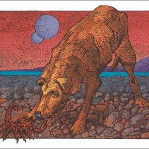 Dog-Scorpio Fine Art Print