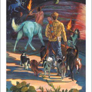 Dog-Sagittarius Fine Art Print