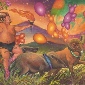 Pig-Aries Fine Art Print