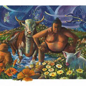 Pig-Taurus Fine Art Print