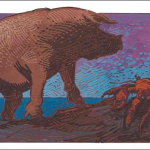 Pig-Cancer Fine Art Print