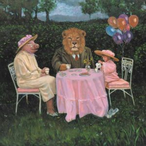 Pig-Leo Fine Art Print