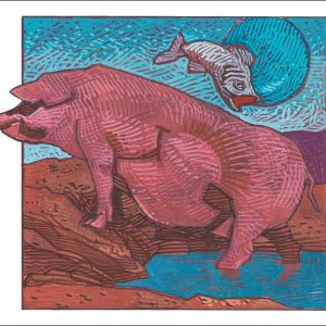 Pig-Pisces Fine Art Print
