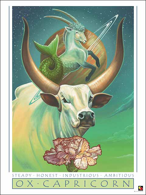 Ox-Capricorn Poster
