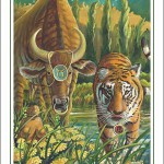 Tiger-Taurus Poster
