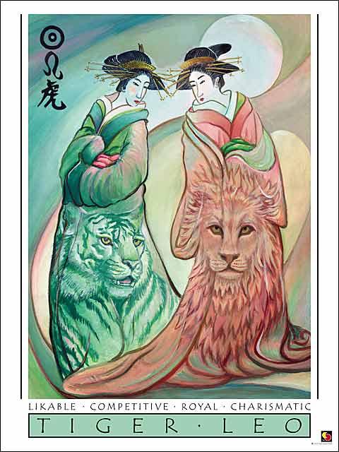 Tiger-Leo Poster